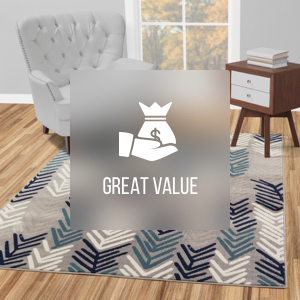 cheap patterned rugs