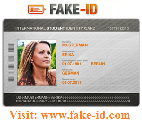 Real id card and real driver's license,